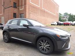 mazda cx3 black 2017 meteor gray mica mazda cx 3 grand touring awd 115562989