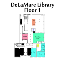 floor plans about the delamare library library guides at