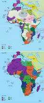 African Continent Map Africa The Changes Of Foreign Occupation In Just 20 Years