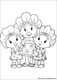fifi flowertots coloring pages coloring book