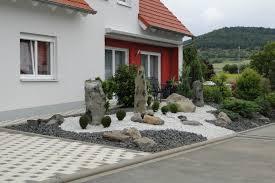 Gartengestaltung Mit Steinen Vorgartengestaltung Mit Steinen U2013 Spinjo Info