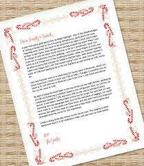 christmas letter template for ms word u2013 download u0026 print