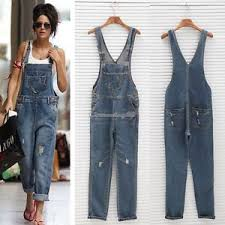 overall jumpsuit uk baggy denim length pinafore overall jumpsuit