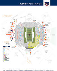 Lsu Parking Map Auburntigers Com Auburn University Official Athletic Site