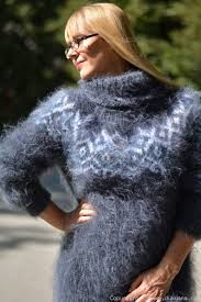 sweater in mohair sweater in steel gray limited edition limited1
