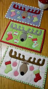 the 25 best christmas placemats ideas on pinterest quilt