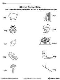 rhyming words worksheet for grade 3 rhyming words match rhyming words printable worksheets and phonics