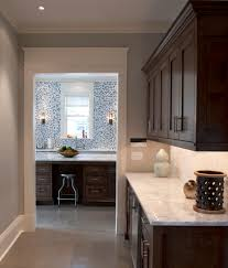 marble looking granite kitchen eclectic with baseboard butlers