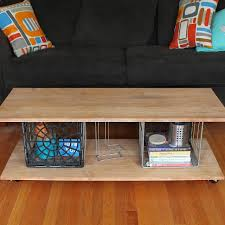 Wine Crate Coffee Table Diy by Crate Table Diy Interiors Design