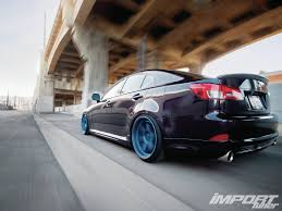 lexus isf trd 2008 lexus is250 import tuner magazine