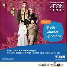 bca aeon aeon store promo gratis voucher rp 50 ribu dengan kartu kredit bca