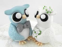 owl wedding cake topper wedding cake toppers owls picture owl wedding cake topper blue