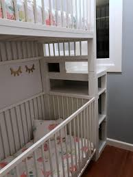 Ikea Convertible Crib by Ikea Loft Bed With Crib Creative Ideas Of Baby Cribs