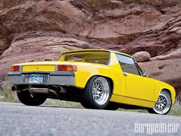 porsche modified 1972 porsche 914 modified mr porsche european car magazine