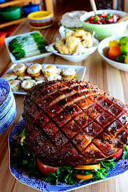 glazed easter ham recipe easter ham pioneer and the pioneer