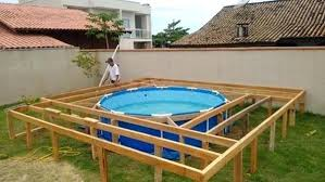 deck ideas swimming pool deck plans image of free round pool deck plans