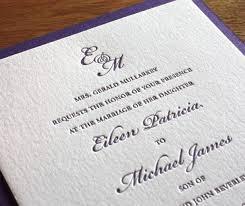 wording wedding invitations3 initial monogram fonts wedding invitation wording formal letterpress wedding invitation