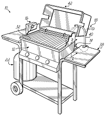 Barbeque Grills Patent Us7168363 Barbeque Grill System Google Patents
