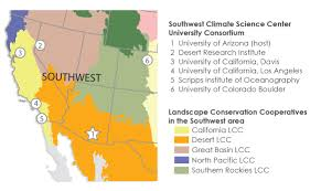 University Of Arizona Map About Swcsc