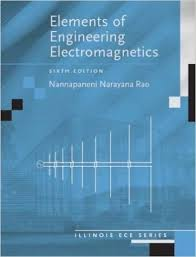 Elements of Engineering Electromagnetics   th Edition     Elements of Engineering Electromagnetics   th Edition   th Edition  by