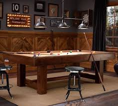 rustic pool table lights pb pool table rustic mahogany finish with taupe felt pool table
