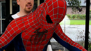 how to wear spider man suit getting inside the costume youtube