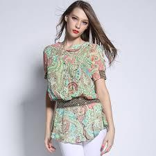 elastic waist blouse elastic waistband blouse silk blouses