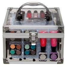 60 Piece Vanity Case Make Up Kit Ebay