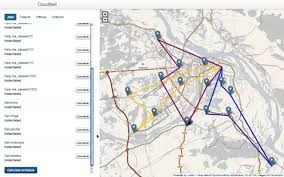 Fedex Route Map by Multi Route Optimization Algorithm Works Youtube