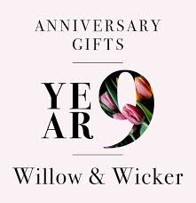ninth anniversary gifts our guide to ninth anniversary gifts a tisket a tasket a woven