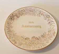 anniversary plates 50th anniversary 50th anniversary plate ebay