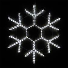 snowflakes 12 led 18 point snowflake cool white lights