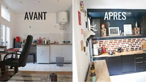 cuisine diy ordinaire amenagement cuisine salon 20m2 2 apr232s astuces