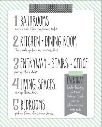 Basic Household Items Checklist 7 Of The Best Free Printable Cleaning Schedules