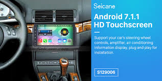 oem 7 inch android 6 0 1998 2006 bmw 3 series e46 316i 318i 320i
