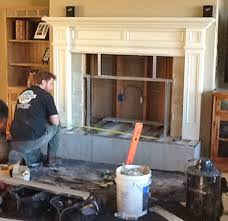 Fireplace Opening Covers by Fireplace Insert Custom Installations Jackson Ca Fireplace Inserts