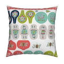 christmas ornaments tags cut u0026 sew project fabric