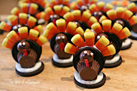 thanksgiving cookies recipe the wife of a dairyman churned in cali oreo turkey treats