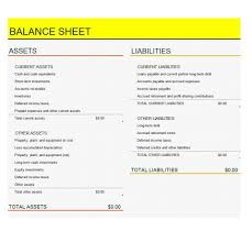 38 free balance sheet templates u0026 examples template lab