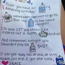21 birthday cards 21st birthday card idea so adorable gift ideas