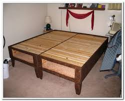 How To Build A Bed Frame With Storage How To Build A Bed Frame With Storage Home Design Ideas