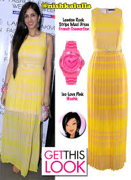 get this look nishka lulla in french connection missmalini