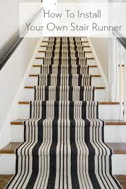 How To Install Stair Banister How To Install A Stair Runner Young House Love