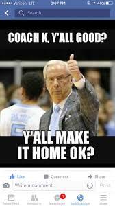 Duke Memes - memes praising north carolina making fun of duke notre dame