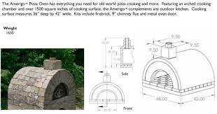 Backyard Pizza Oven Kit by Ma Outdoor Pizza Oven Brick Ovens Masonry Oven