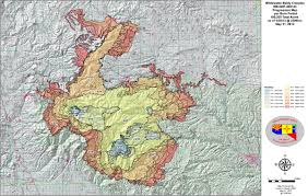 Wildfire Map America by Los Alamos National Laboratory Fire Earth