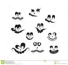 ghost face clipart collection
