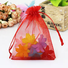 organza drawstring bags 100pcs lot big size organza bags wedding favor cosmetics candy