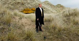 is trump struggling to find the green with his golf investments
