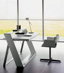 Contemporary Office Desk Furniture Best 25 Modern Desk Ideas On Pinterest Modern Office Desk Within